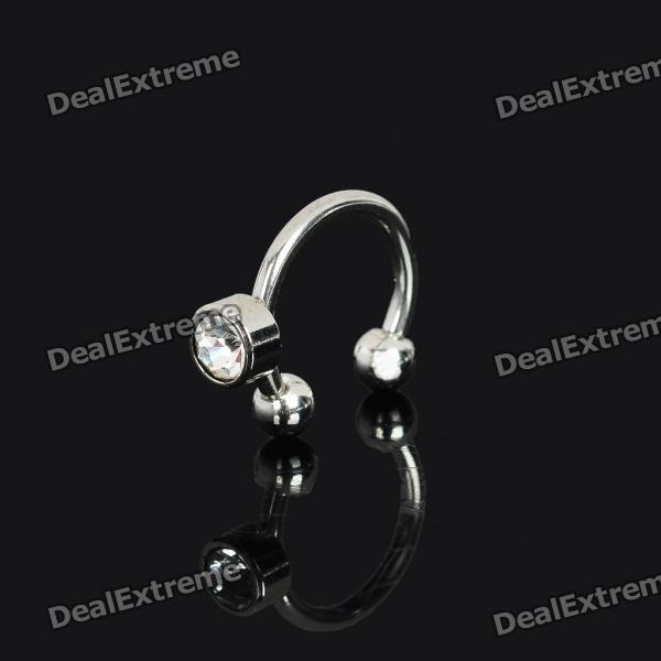 Multi-Use 316L Surgical Steel Ear / Body Spike Stud - Silver от DX.com INT