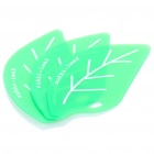 Plastic Leaf Shaped Kitchen Oil Remover - Green (3-Pack)