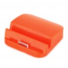 6000mAh Power Battery Dock for iPad/iPad 2 - Orange Red