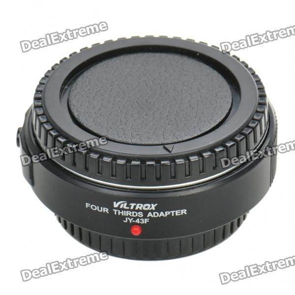 Auto Focus Olympus Micro 4/3 Lens to 4/3 Camera Lens Adapter - Black cvd znse co2 laser focus lens with diameter 18mm focus length 38 1mm thickness 2mm