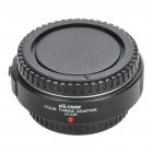 Auto Focus Olympus Micro 4/3 Lens to 4/3 Camera Lens Adapter - Black