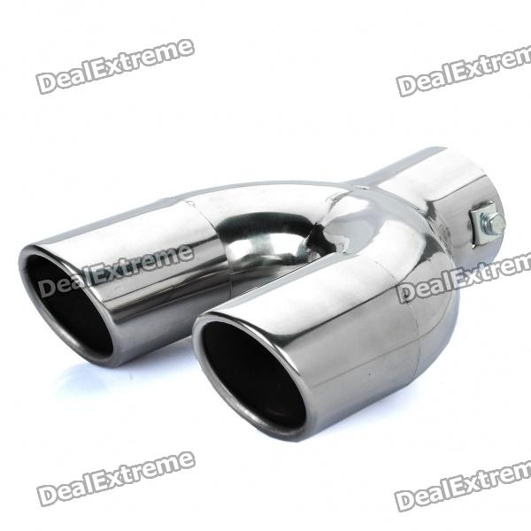 Stylish Stainless Steel Car Exhaust Pipe Muffler Tip kapeier c121 universal stainless steel car exhaust pipe muffler tip