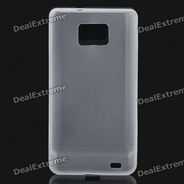 Protective PS Plastic Case for Samsung i9100 Galaxy S2 - Translucent White