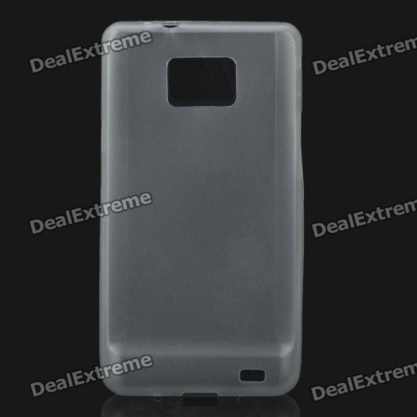 Protective PS Plastic Case for Samsung i9100 Galaxy S2 - Translucent Grey