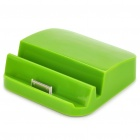 Rechargeable 6000mAh Emergency Battery Charging Dock Holder for iPad / iPad 2 - Green