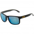 Fashion UV Protection Polaroid Resin Lens Sunglasses - Bright Black Frame