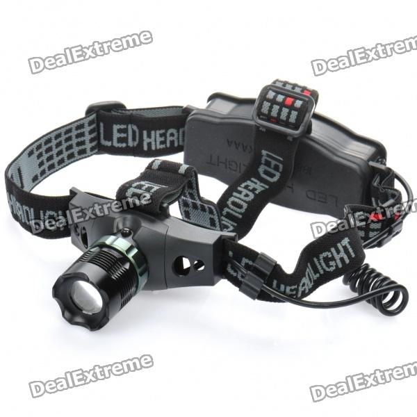 ZT-652 230-Lumen 3-Mode White Light Focus Adjustable Headlamp (1 x 18650 / 3 x AAA)