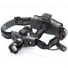 ZT-652 Cree Q3 WC 230-Lumen 3-Mode White Light Focus Adjustable Headlamp (1 x 18650 / 3 x AAA)