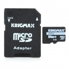 Original Kingmax Micro SDXC Card with SD Card Adapter (64GB/Class 10)