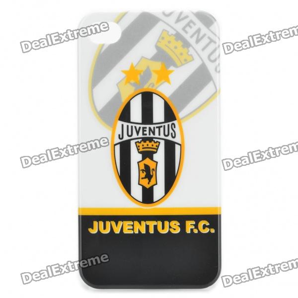 Coole FC Football Club Logo Protective zurück Fall für iPhone 4 / 4S - Juventus