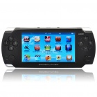 "JXD F3000 4.3"" Touch Screen Game Console Media Player w/ 300KP Camera / FM / AV-Out/TF - Black (4GB)"