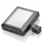 "3.5"" TFT LCD Rechargeable Media Player Monitor w/ 300KP Car DVR Camera / TF / AV-In / AV-Out"