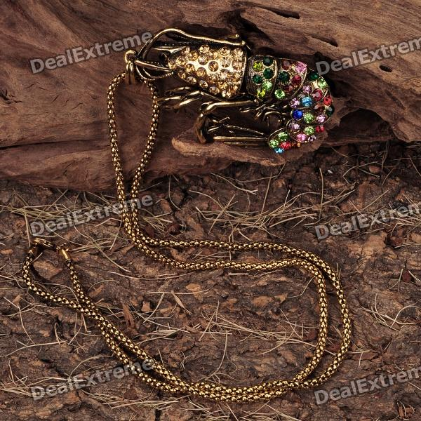 Lobster Pendant Necklace - Golden (70CM - Length)
