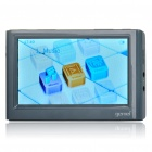 "Gemei S5000 4.3"" LCD 720 Media Player w/ TF / HDTV / 3.5mm Audio Jack - Grey (8GB)"