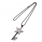 Star Style Pendant Necklace (69CM - Length)