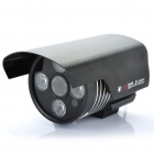 1/3 CCD Surveillance Security Camera with 4-LED IR Night Vision