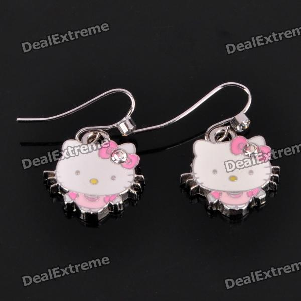 Hello Kitty Zinc Alloy Earrings (Pair)