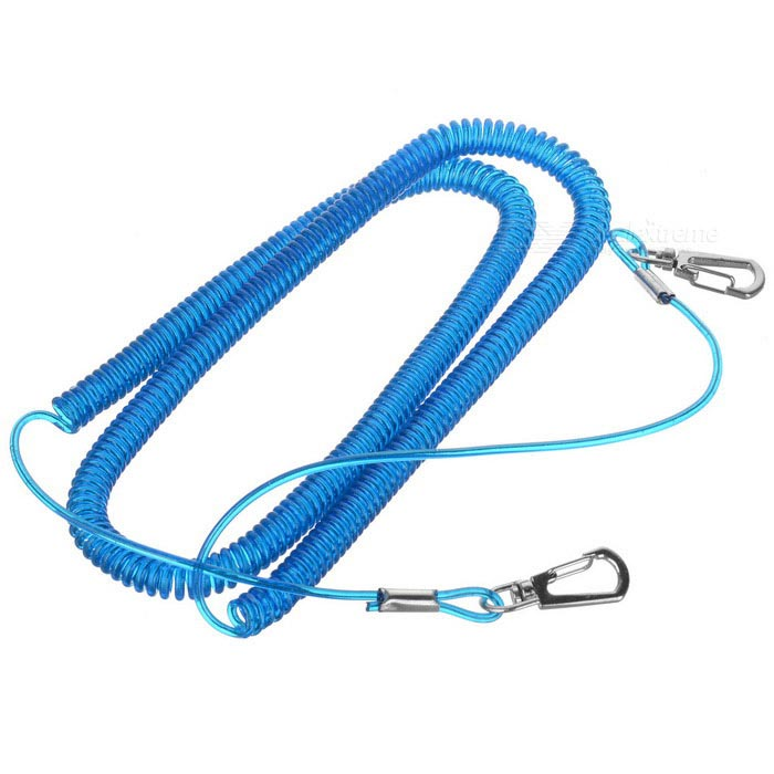 Flexible Elastic Fishing Lock Rope Fishing Rod Connect Rope - Blue (8m)