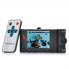 "3MP CMOS Dual-Lens Car DVR Camcorder w/ 4-LED IR Night Vision / AV-Out / SD (2.7"" TFT LCD)"