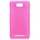 Protective PC Back Grid Case for MiOne / M1 - Deep pink