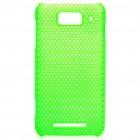 Protective PC Back Grid Case for Millet M1 - Green