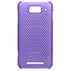 Protective PC Back Grid Case for MiOne / M1 - Purple