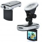 "300KP Wide Angle Car DVR Camcorder w/ 4-LED IR Night Vision / AV-Out / SD Slot (2.5"" TFT LCD)"