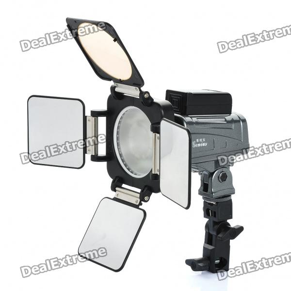 "1.4"" LCD 6-LED White Light Video Lamp for Camera/Camcorder (4 x AA)"