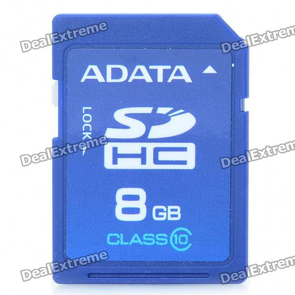 Genuine ADATA SDHC Memory Card (8GB / Class 10)