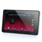 "7"" Capacitive Android 2.3 Tablet PC w/ Camera / WiFi / HDMI / TF (Telechips TCC8803 1.2GHz / 4GB)"