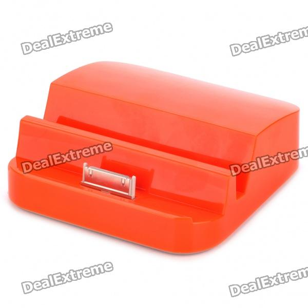 2500mAh Power Akku Dock für das iPhone - Orange Red
