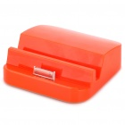 2500mAh Power Battery Dock for iPhone - Orange Red