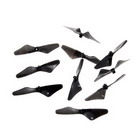 Replacement Tail Blades for Pocket R/C Helicopters (10-Pack)