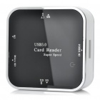 Super Speed USB 3.0 Card Reader with CF / MS / M2 / TF / SD / XD Slot