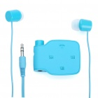 Designer's BH-111 Bluetooth V2.0+EDR A2DP Stereo Hands-Free Headset - Blue