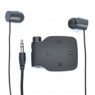 Designer's BH-111 Bluetooth V2.0+EDR A2DP Stereo Hands-Free Headset - Black