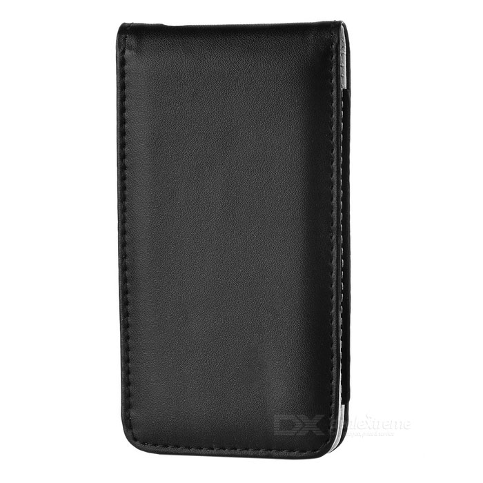 Stylish Protective Leather Case for Iphone 4/4S - Black