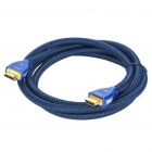 Gold Plated 3D HDMI V1.4 Male to Male Connection Cable - Blue (1.5M-Length)