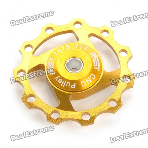 AEST Aluminum Bike 7075 11T Rear Derailleur Pulley for Shimano / Sram 7/8/9 Speed - Golden