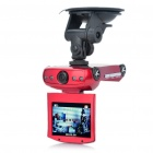 "Cool Car Shaped HD 720P 2.5"" TFT Vehicle DVR Camcorder with AV-Out / SD / 4-LED IR Night Vision"