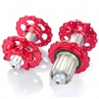 AEST Titanium Alloy Mountain Bike Hubs Set - Red ( F32T / R32T)