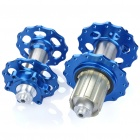 AEST Titanium Alloy Mountain Bike Hubs Set - Blue ( F24T / R28T)