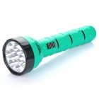 TGX-812 Rechargeable 2-Mode 15-LED White Light Taschenlampe - Green + Black (110-220V)