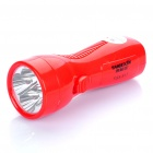 TGX-817 Rechargeable 2-Mode 4-LED White Light Taschenlampe - Red (110 ~ 220V)