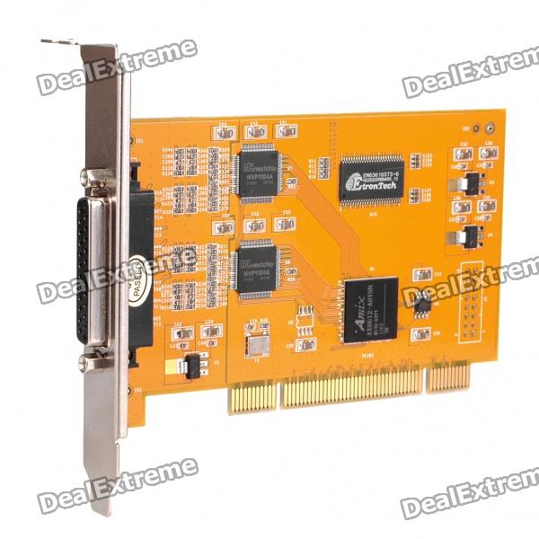8 Channels Surveillance Security Video Audio Monitoring Capture Card