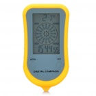 "Portable 2.0 ""LCD Multifunktions-Digitaler Kompass mit Thermometer / Uhr / Stoppuhr (1 x CR2032)"