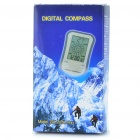 "Portable 2.0"" LCD Multi-function Digital Compass with Thermometer / Clock / Stopwatch (1 x CR2032)"