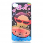 Protective Back Case with 3D Graphic for iPhone 4 - Paul Frank Pattern