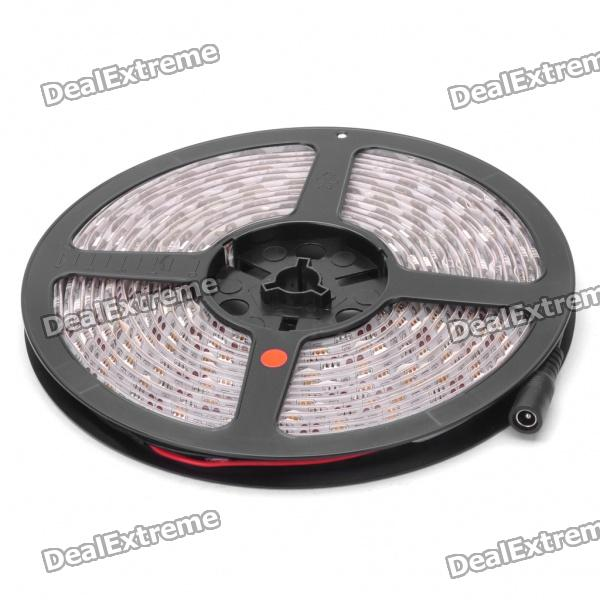 Home / Car 54W 3600-Lumen 300-5050 SMD LED Red Light Flexible Strip w/ Power Adapter (5m / DC 12V)