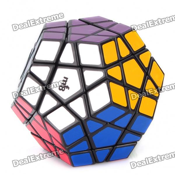 MF8 12-Color Megaminx IQ Magic Cube - Black Base 3d take apart brain teaser magic iq puzzle